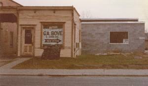 Old G.A. Bove Fuels office