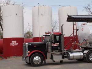 G.A. Bove Fuels truck
